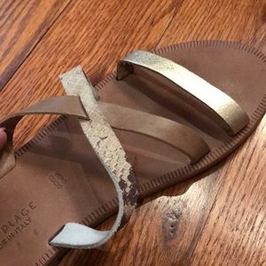 Joie Shoes - Joie Sandal with Triple contrast straps  38 1/2